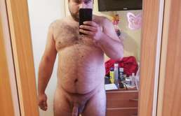 Fat boy hairy