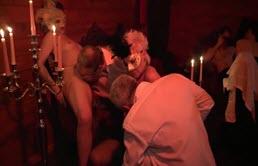 Orgie sexuala mascata