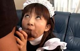 Servitoare japoneza muita de stapan