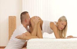Partida de sex cu 2 tineri indragostiti