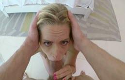 POV porno cu iubita lui blonda
