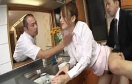 Japoneza fututa de sefi