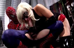 Italianca buna de pula fututa hard de Spider Man
